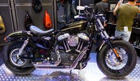 Moto 2014 de Harley-Davidson Sportster Image libre de droits