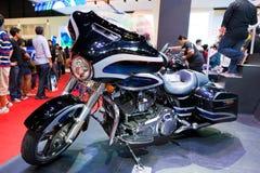 Moto 2014 de Harley-Davidson Touring Photos libres de droits