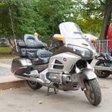 Moto de Honda GoldWind en el ruso Harley Days, St Petersburg imagenes de archivo