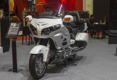 Moto de Honda Goldwing Photographie stock libre de droits