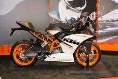 Moto de KTM RC 390 Photographie stock libre de droits