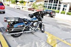 Moto de police de Miami Beach Etats-Unis d'état de la Floride Images stock