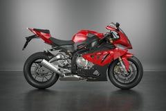Moto de sport Photographie stock libre de droits