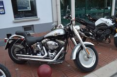 Moto de V-tige de Harley Davidson Photographie stock