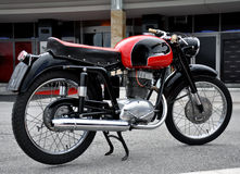 Moto de vintage Photos libres de droits