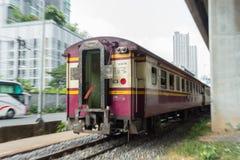 Moto del treno Immagini Stock Libere da Diritti