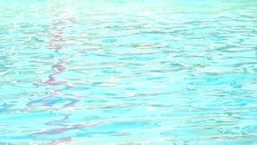 Moto dell'onda sull'acqua stock footage