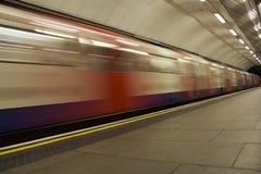 Moto della metropolitana Fotografia Stock Libera da Diritti