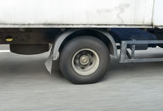 Moto della ruota Fotografia Stock