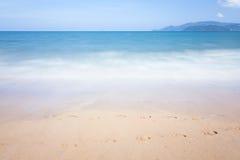 Moto di onde vago del mare Fotografia Stock