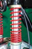 Moto du ` s d'amortisseur pour réduire la vibration en conduisant Photos stock