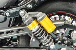 Moto du ` s d'amortisseur pour réduire la vibration en conduisant Photographie stock
