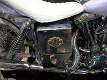 Moto em um museu Fotos de Stock Royalty Free