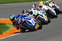 Moto 2 en el circuito 2010 de Mugello Imagen de archivo