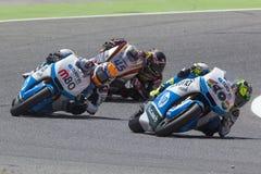 Moto2. Esteve Rabat And Pol Espargaro Stock Image