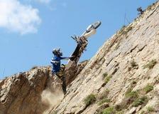 Moto extrema Imagen de archivo