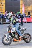 Moto freestyle sports group. Stock Photos