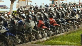 Moto garant Nha Trang vietnam 2016 ans Photographie stock