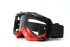 Moto Goggles #2. Enduro and Cross motorcycle goggles Royalty Free Stock Images
