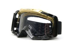 Moto Goggles #4. Enduro and Cross motorcycle goggles Stock Photography
