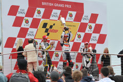 Moto GP Donington 2009 Royalty Free Stock Photography