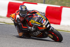 Moto GP Laufen - Colin Edwards Lizenzfreies Stockfoto
