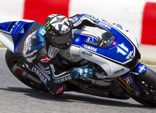 Moto GP Racing - Ben Spies royalty free stock images