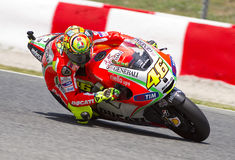Moto GP Racing - Valentino Rossi Royalty Free Stock Image