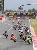 Moto grand prix Arkivbild