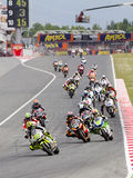 Moto Grand Prix of Catalonia Stock Photo