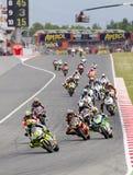 Moto Grand Prix of Catalonia stock photo