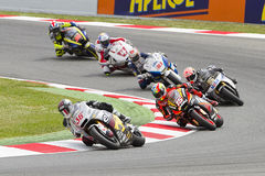 Moto Grand Prix of Catalonia Stock Image