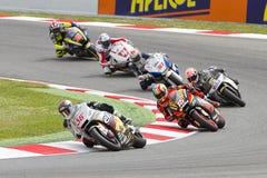 Moto Grand Prix of Catalonia stock image
