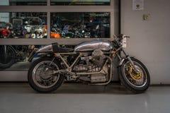 Moto Guzzi种族自行车 库存照片