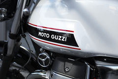 Moto Guzzi Royalty Free Stock Photo