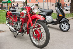 Moto Guzzi Falcone Royalty Free Stock Images