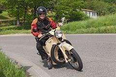 Moto Guzzi Galletto Photographie stock libre de droits