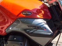 Moto Guzzi motorcykel Arkivbild