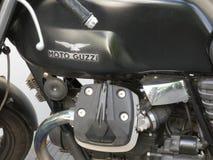 Moto Guzzi motorcykelemblem Fotografering för Bildbyråer