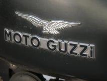 Moto Guzzi motorcykelemblem Royaltyfri Foto