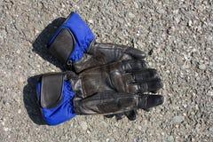 Moto-Handschuhe lizenzfreie stockbilder