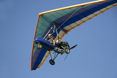 Moto hang glider Stock Photo
