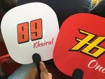 Moto3 Honda Team Asia Royaltyfria Foton