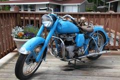 Moto india antigua imagenes de archivo