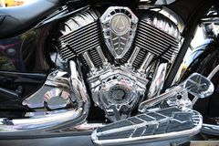 Moto indienne, Sturgis, le Dakota du Sud, août 2017 Photos stock