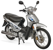 Moto intéressante de scooter Image stock
