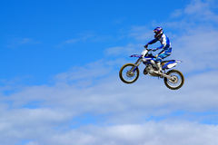 Moto Jump Royalty Free Stock Photo