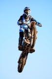Moto-Kreuz Stockbild