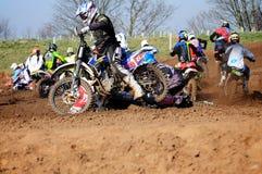 Moto-Kreuz Lizenzfreies Stockfoto