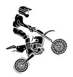 Moto-Kreuz vektor abbildung